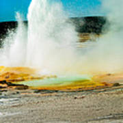 Yellowstone Geysers Poster
