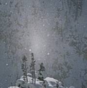 Yellowstone National Park, Winter View Poster