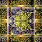 Yggdrasil Flower Poster