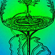 Yggdrasil From Norse Mythology Poster