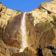 Yosemite Bridal Veil Falls Poster