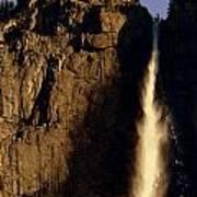 Yosemite Falls Winter Morn' Poster