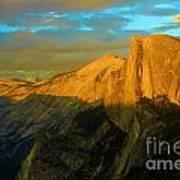 Yosemite Golden Dome Poster