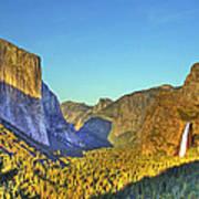 Yosemite Valley 4 Poster
