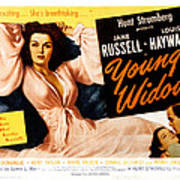 Young Widow, Jane Russell, 1946 Poster by Everett