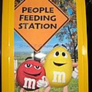 Yummy M And M's Poster