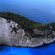 Zakynthos  Crocodile Island Greece Poster