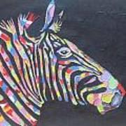 Zebra Poster by Rejeena Niaz