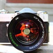 Zenit Photo Camera Poster