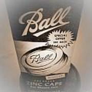 Zinc By Ball Poster