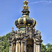 Zwinger Palace Crown Gate Poster