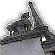 # 4 Paris France Poster