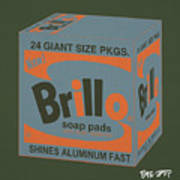 Brillo Box Colored 16 - Warhol Inspired Poster