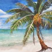 Dessert Palm Poster