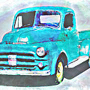 Dodge Pickup Poster