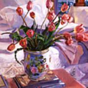 Fresh Tulips Poster