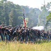 Gettysburg Union Infantry 9372c Poster