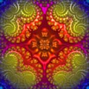 Mandala For Awakening The Creative Energy Poster