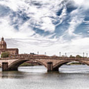 Ponte Alla Carraia, Firenze Poster