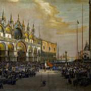 Popolo Di Venezia Solleva Poster