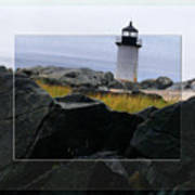 Rocks View Poster