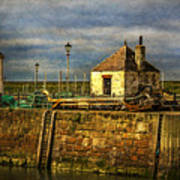 The Harbour At Maryport Poster