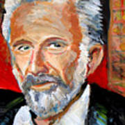 The Most Interesting Man In The World Poster by Jon Baldwin  Art
