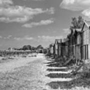 Whitstable Huts Poster
