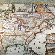 New France, 1719 Poster
