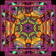 001 - Mandala Poster by Mimulux patricia no No