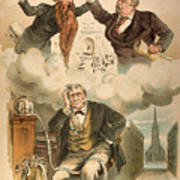 Cartoon: Panic Of 1893 Poster