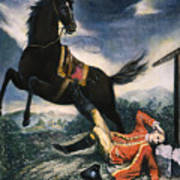 Cartoon: Thomas Gage, 1774 Poster