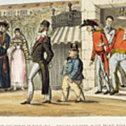 Paris Occupation, 1814 Poster