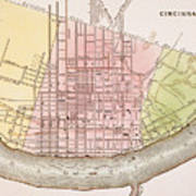 Cincinnati, Ohio, 1837 Poster