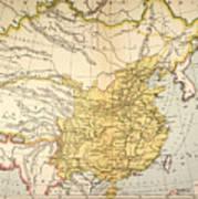 Map: China, 1910 Poster