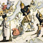 Europe: 1848 Uprisings Poster