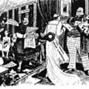 Press Cartoon, 1912 Poster