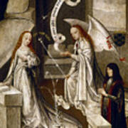 Spain: Annunciation, C1500 Poster