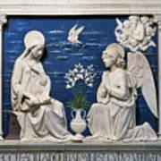 Della Robbia: Annunciation Poster