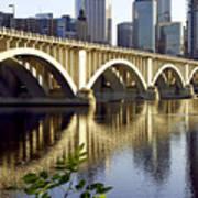 0333 3rd Avenue Bridge Minneapolis Poster