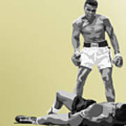 059. Float Like A Butterfly Poster