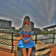 07 Shark Girl Poster