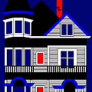 1080 Haight Street Poster by Asbjorn Lonvig