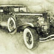 1928 Duesenberg Model J 3 - Automotive Art - Car Posters Poster