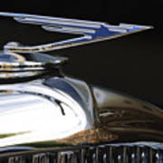 1929 Duesenberg Model J Hood Ornament Poster