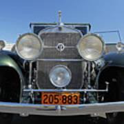 1931 Cadillac Automobile Poster