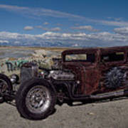 1932 Chevrolet Rat Rod Poster