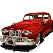 1946 Lincoln Continental Mk I Poster