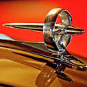 1947 Buick Roadmaster Hood Ornament Poster