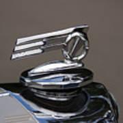 1952 Triumph Renown Limosine Radiator Cap Poster